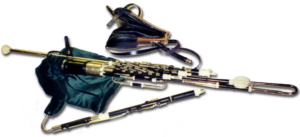 The uilleann pipes.